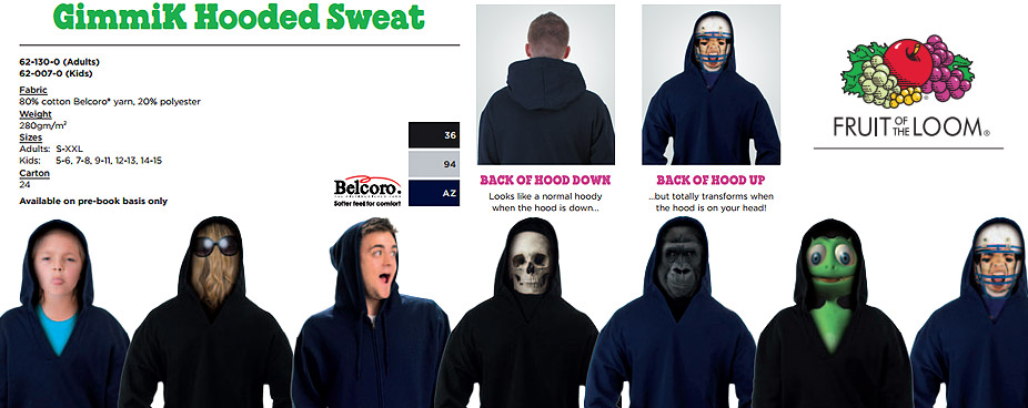 ideas for gimmik hooded sweatshirt
