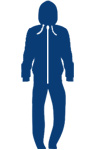 navy blue onesie